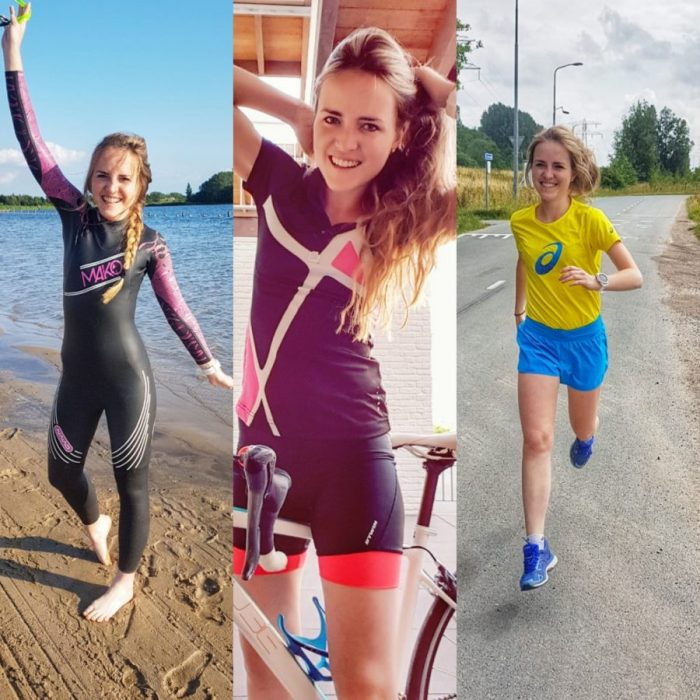 Mijn triathlonschema, week 5 t/m 8.  Inclusief mijn 1e triathlon ervaringen en endless poolswimming.